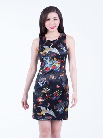 Floral Short Dress - D36831