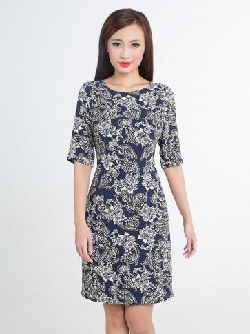 Floral Print Dress - D37369
