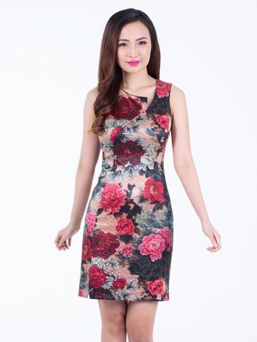 Floral Short Dress - D37440