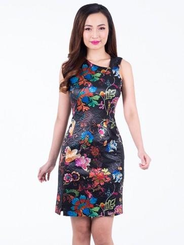 Floral Short Dress - D37472