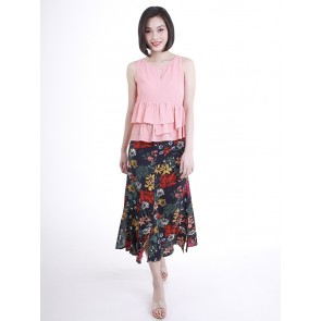 Floral Skirt- S38366