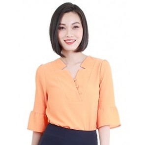 Light Orange Top- T38743