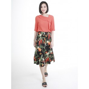 Floral Skirt- S38726