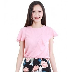 Pink Short Sleeve Top- T37881