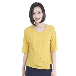 Yellow Front Detail Top-T38741