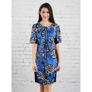 Floral Print Dress - D36276