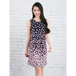 Floral Print Dress - D36796