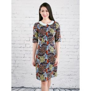 Floral Print Dress - D37188