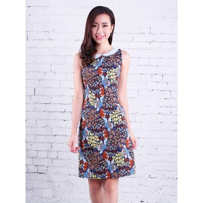 Floral Print Dress - D37189