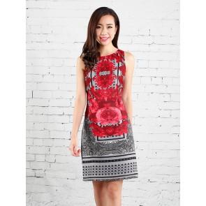 Floral Print Dress - D37289