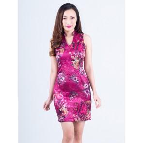 Floral Short Dress - D37436