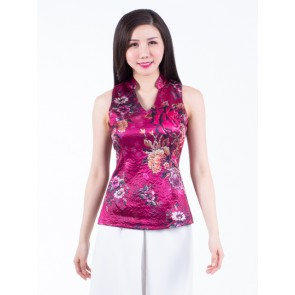 Red Floral Top- T37438