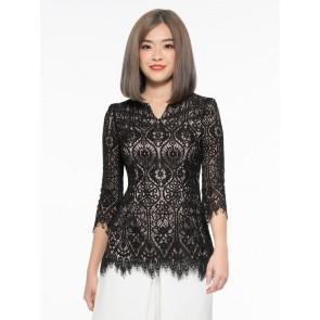 Black Lace Top - T37509