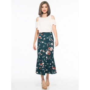 Floral Skirt- S37865
